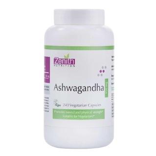 Zenith Nutrition Ashwagandha (450mg),  240 capsules