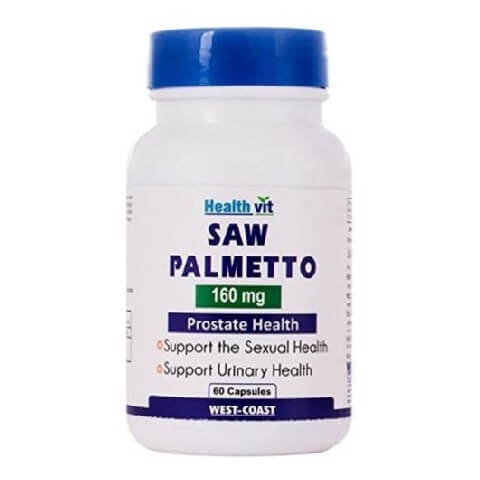 Healthvit Saw Palmetto (160 mg),  60 capsules