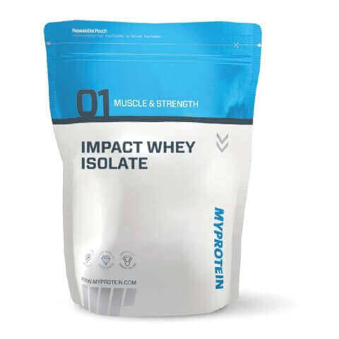 Myprotein Impact Whey Isolate,  2.2 lb  Chocolate Brownie