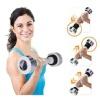 KOBO Shake Weight Dumbbell (AC-7),  Silver  2 kg