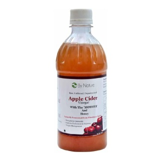 By Nature Apple Cider Vinegar, 500 ml Unflavoured