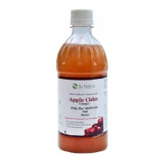 By Nature Apple Cider Vinegar with Mother & Honey,  0.5 L  Unflavoured