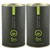 True Elements Spearmint Green Tea (Pack of 2) with Strainer, 100 g Natural