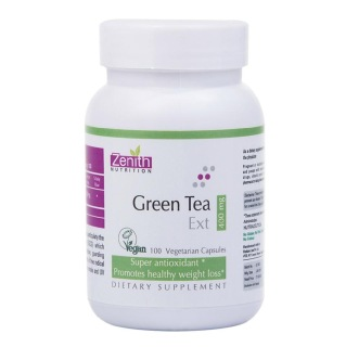 Zenith Nutrition Green Tea Extract (400 mg),  100 capsules  Unflavoured