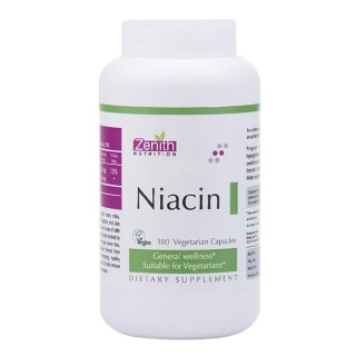 Zenith Nutrition Niacin,  Unflavoured  300 capsules