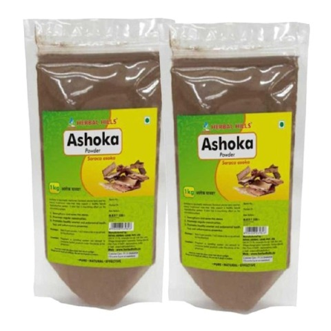 Herbal Hills Ashoka Powder,  1 kg  - Pack of 2