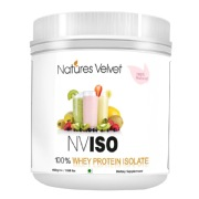 Natures Velvet NVISO 100% Whey Protein Isolate,  0.88 lb  Unflavoured
