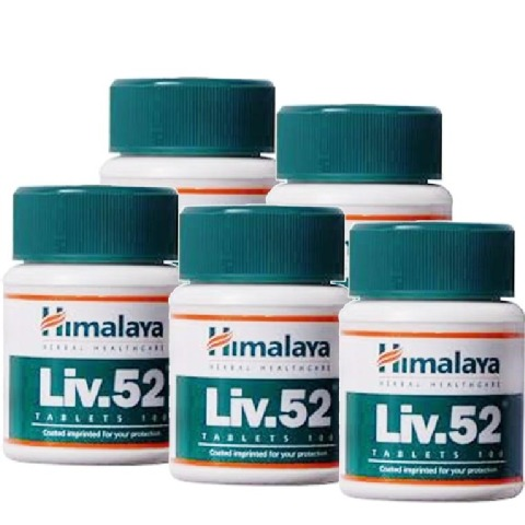 Himalaya Liv 52,  100 tablet(s)  - Pack of 5