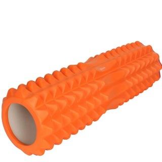 Strauss Grid Foam Roller,  Orange  33cm