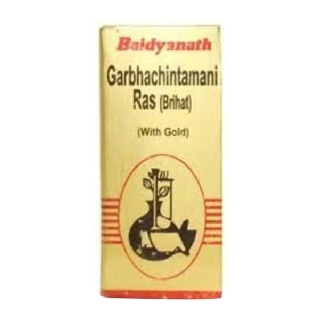 Baidyanath Garbha Chintamani Ras Brihat with Gold,  10 tablet(s)