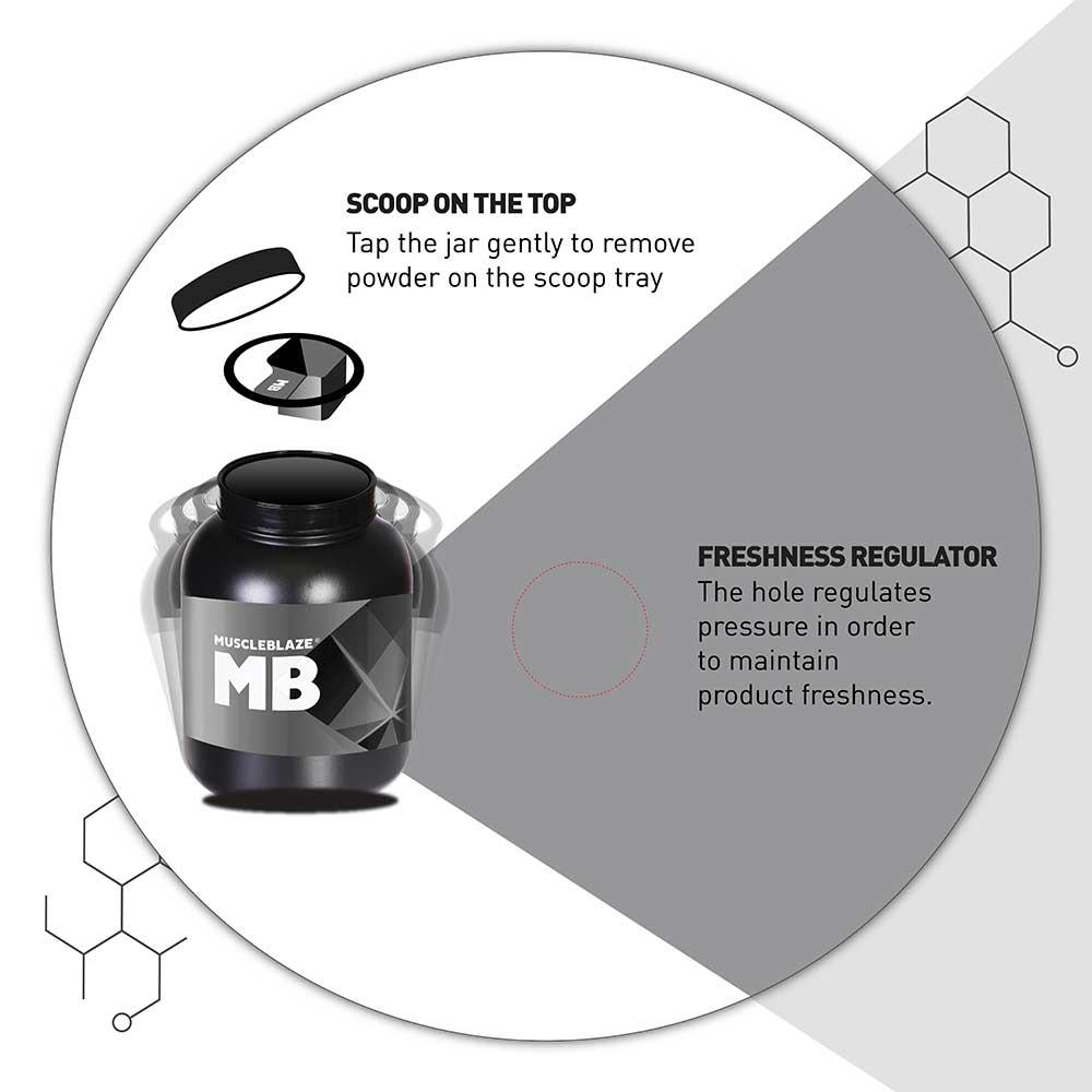 10 - MuscleBlaze Biozyme Performance Whey,  4.4 lb  Rich Chocolate