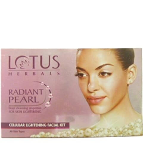 Lotus Herbals Radiant Pearl Facial Mini Kit,  37 g  Lightening