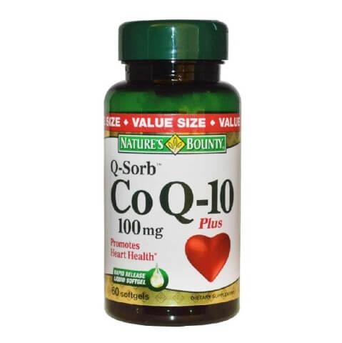 Nature's Bounty Co Q-10 plus Q-Sorb (100 mg),  60 softgels
