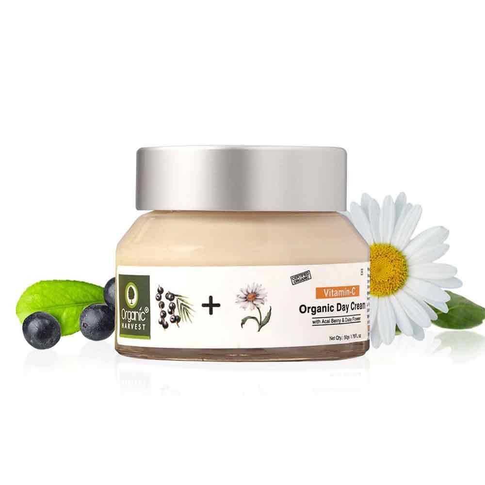 1 - Organic Harvest Vitamin C Day Cream,  50 g  for All Types of Skin