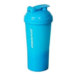 Sports Fuel Protein Super Shaker,  Blue  600 ml