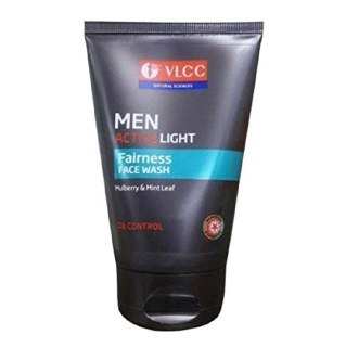 VLCC Men Active Light Fairness Face Wash,  100 g  Oil Control