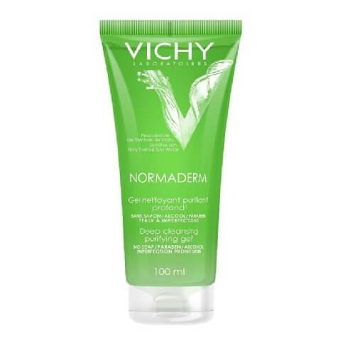 Vichy Normaderm Deep Cleansing Purifying Gel,  100 ml  Sensitive Skin