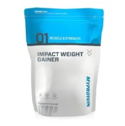 Myprotein Impact Weight Gainer,  Strawberry Cream  11 lb