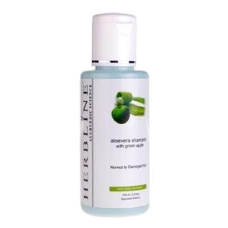 Herbline Aloevera Shampoo,  100 ml  for All Hair Types