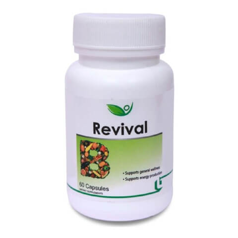 Biotrex Revival,  Unflavoured  60 tablet(s)