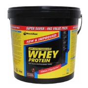MuscleBlaze Whey Protein, 8.8 lb Rich Milk Chocolate