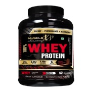 MuscleXP 100% Whey Protein,  4.4 lb  Double Rich Chocolate