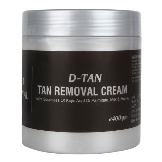 GLAMVEDA D-Tan Removal Cream,  400 g  All Skin Type