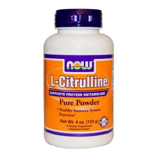 Now L-Citrulline Pure Powder,  0.25 lb  Unflavoured