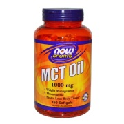 Now MCT Oil (1000 mg),  150 softgels  Unflavoured