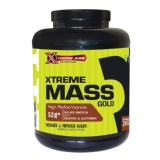 Xtreme Abs Nutrition Xtreme Mass Gold,  Vanilla  4.4 Lb