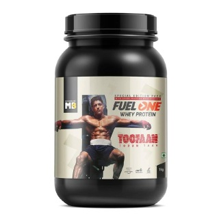 9 - MB Fuel One Whey Protein with Creatine,  2.2 lb  Chocolate