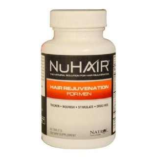 Natrol NuHair for Men,  Unflavoured  60 tablet(s)