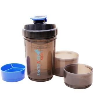 Lactonova Protein Shaker,  Black  1 L