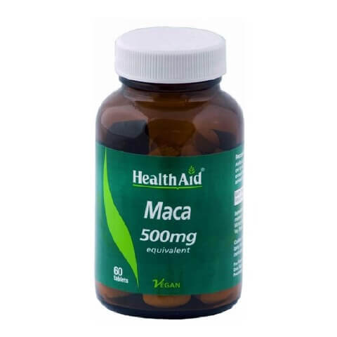 HealthAid Maca (500 mg),  60 tablet(s)