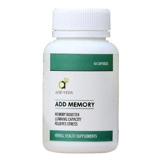 Add Veda Add Memory,  60 capsules