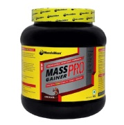 MuscleBlaze Mass Gainer PRO with Creapure,  Chocolate  2.2 lb