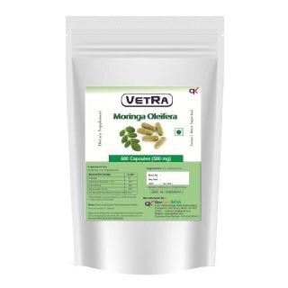 Vetra Moringa Oleifera,  600 capsules
