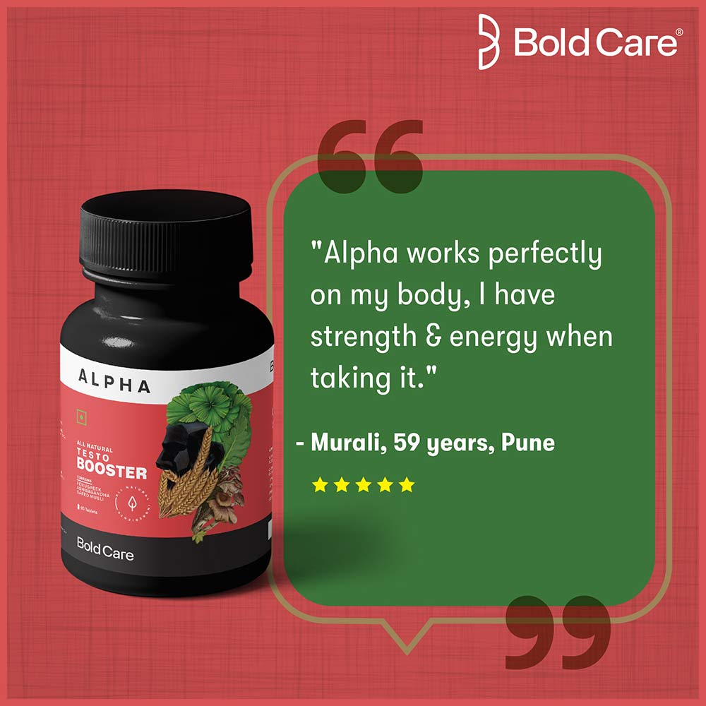 8 - Bold Care Alpha All Natural Testo Booster,  60 tablet(s)