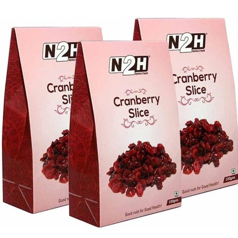N2H Cranberry Slice - Pack of 3 0.1 kg