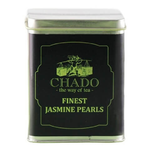 Chado Tea Finest Jasmine Pearls,  Unflavoured  20 Tea Bag(s)