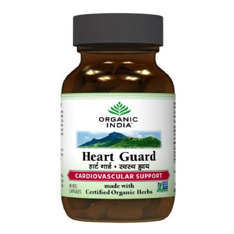 Organic India Heart Care,  60 capsules