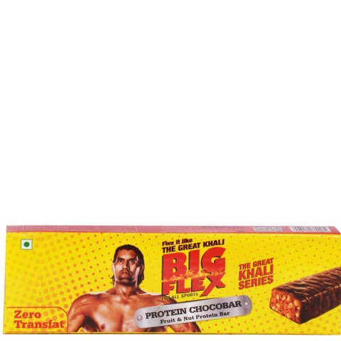 Big Flex Protein Chocobar,  15 Piece(s)/Pack  Chocolate