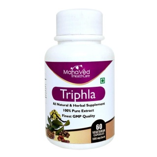 Mahaved Triphala Extract,  60 capsules