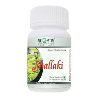 Scortis Shallaki,  60 veggie capsule(s)