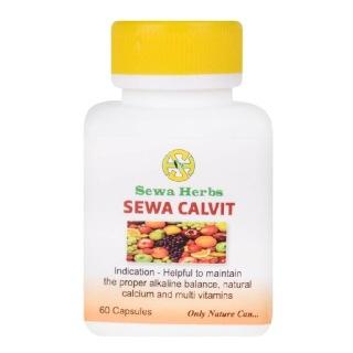 Sewa Herbs Calvit,  60 capsules