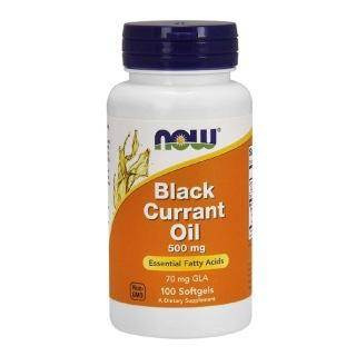 Now Black Currant Oil (500 mg),  100 softgels