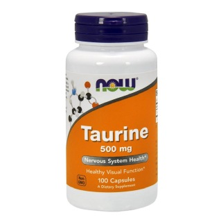 Now Taurine (1000 mg),  100 capsules