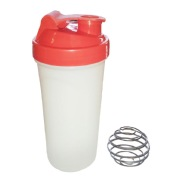 Day2Day Classic Shaker,  White & Red  750 ml