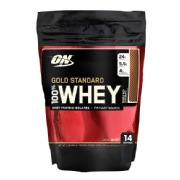 ON (Optimum Nutrition) Gold Standard 100% Whey Protein,  1 lb  Double Rich Chocolate