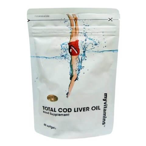 Myvitamins Total Cod Liver Oil,  60 softgels